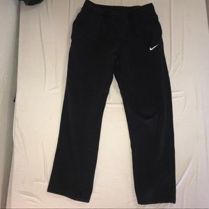 Black nike cotton sweatpants